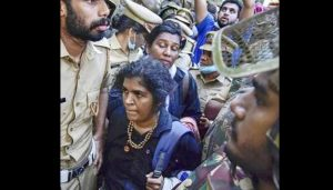 Woman activist going to Sabarimala attacked by Hindu outfit member