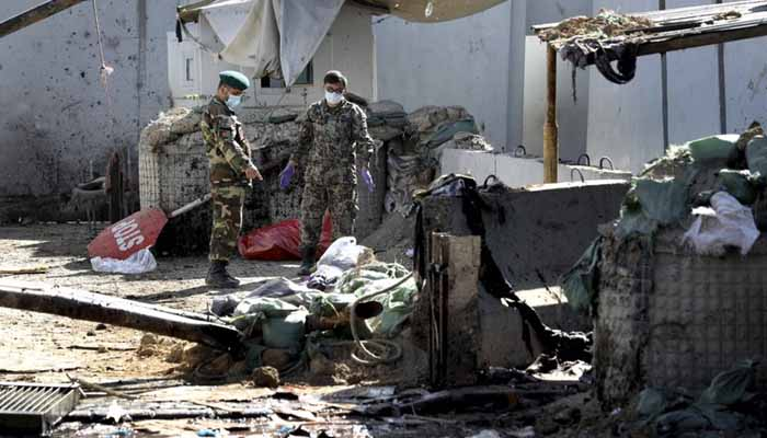 Afghan official: Suicide bombing kills 6 troops in the north