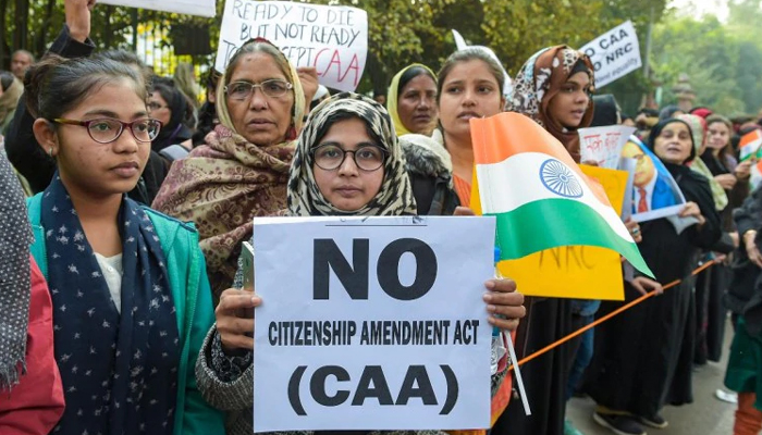 CAA protest: Students from various universities across Delhi join march