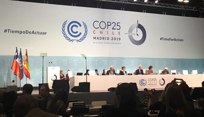 Nearly 200 countries attend ambitious climate talks held in Madrid