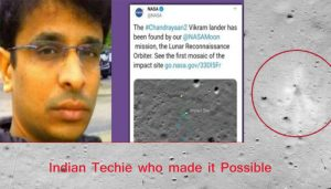 Chandrayaan-2's Vikram lander located by NASA with Indian techie's help