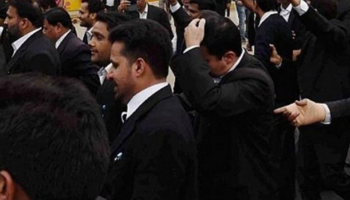 Dharamshala lawyers cease work to press demand for HC circuit bench