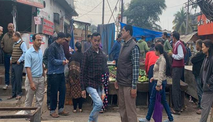 Long queues at Guwahati markets as locals rush to stock up