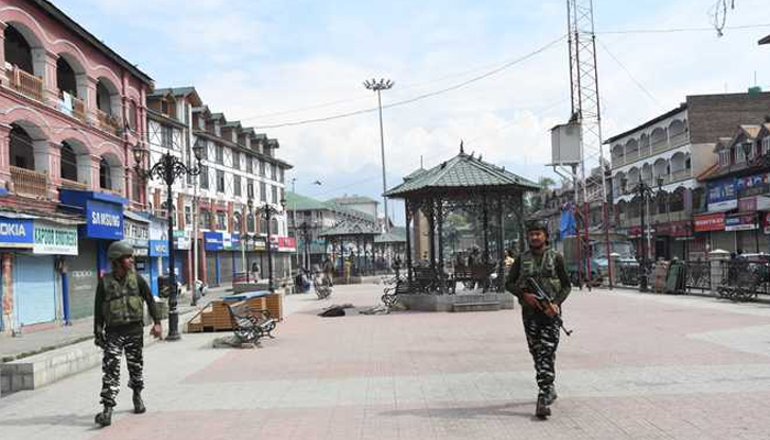 Shops closed in J&K districts due to shutdown called by separatists