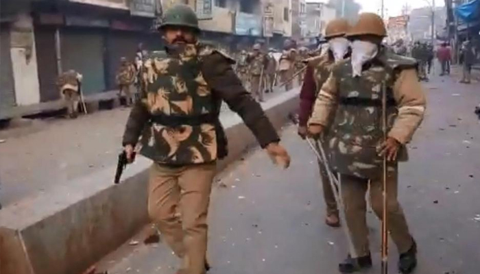 Video shows Kanpur cop loading pistol, police deny opening fire