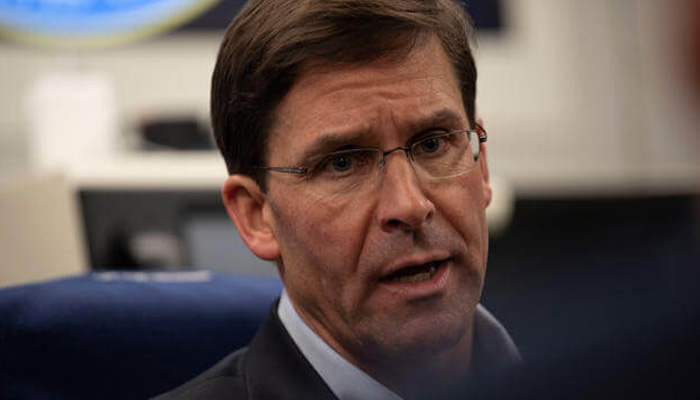 No decision on withdrawal of US troops from Iraq yet: Def Sec Esper