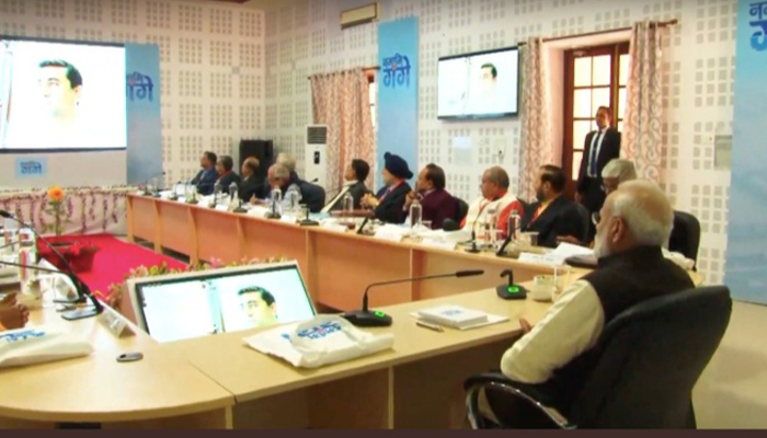 Prime Minister chairs first meeting of National Ganga Council
