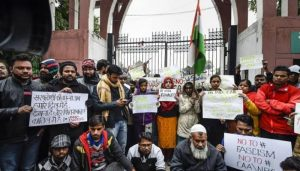 Anti-Citizenship Amendment Act protest outside Jamia enters 3rd day