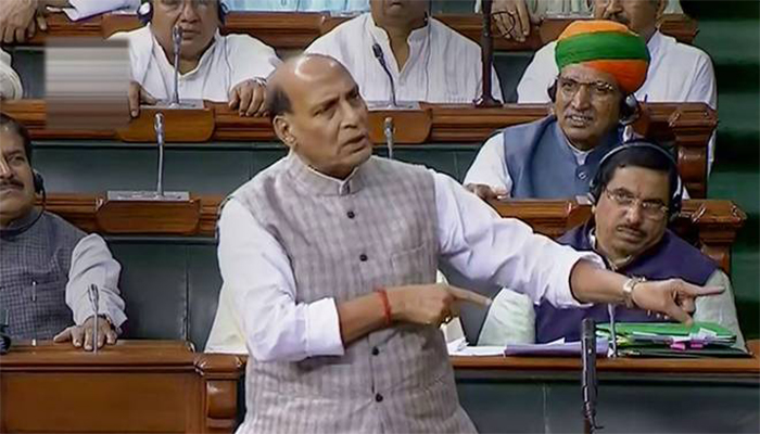 Watch Video : What did Rajnath Singh say on the Hyderabad rape case