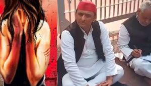 Akhilesh Yadav Sits On Protest Over Unnao Case, Targets UP Government