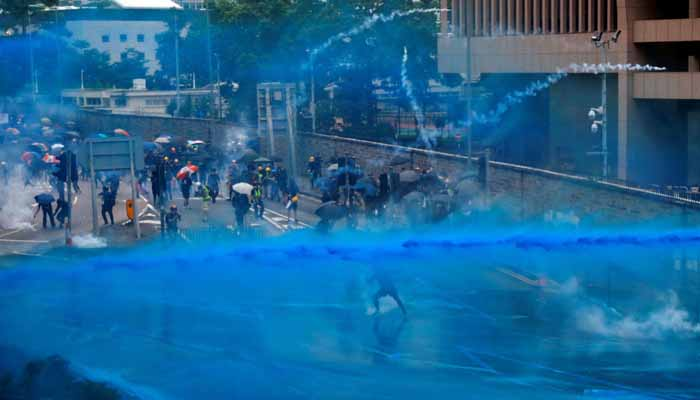 UP police to fire dyed water cannons at protesters; will mark agitators