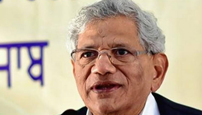 Young citizens rightly worried about Indias future: Yechury