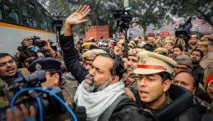 Protesting against CAA many activists, leaders detained across India
