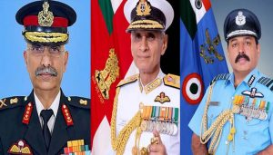 Rare coincidence! Three friends to take charge of three armies of India!