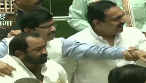 Scuffle between BJP, Sena MLAs in Assembly; both Houses adjourned