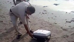 Body parts of man found stuffed in suitcase at Mumbai beach