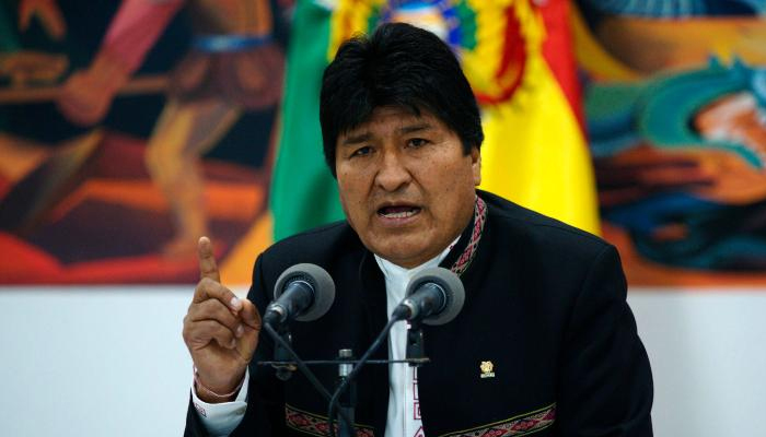 Bolivia to issue warrant against former president Evo Morales