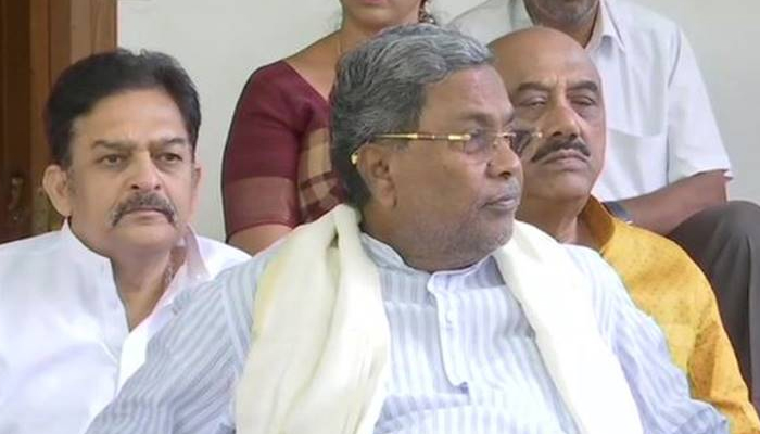Siddaramaiah resigns as CLP leader after Cong poor show in Assembly bypolls