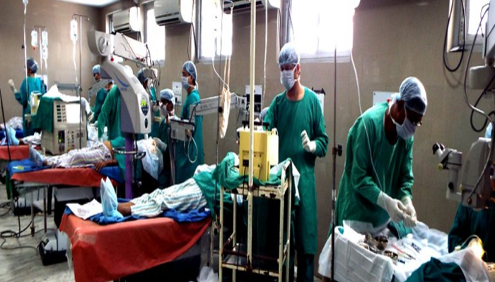 Youth loses vision in one eye after surgery, family cry medical negligence