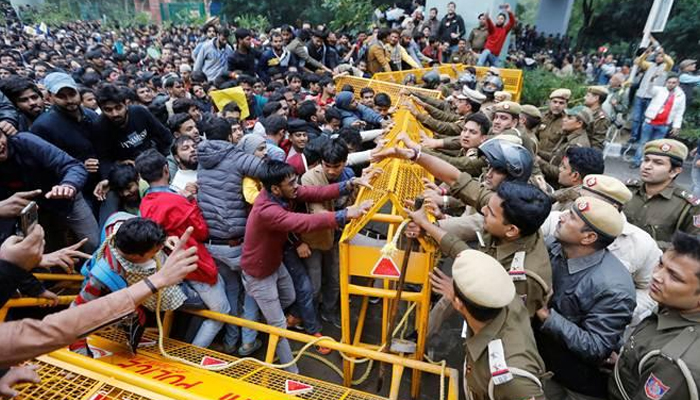 Plea moved in HC against police action on Jamia students