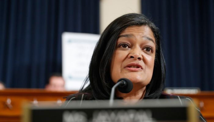Not standing up to a president who abuses power will set wrong precedent: Jayapal