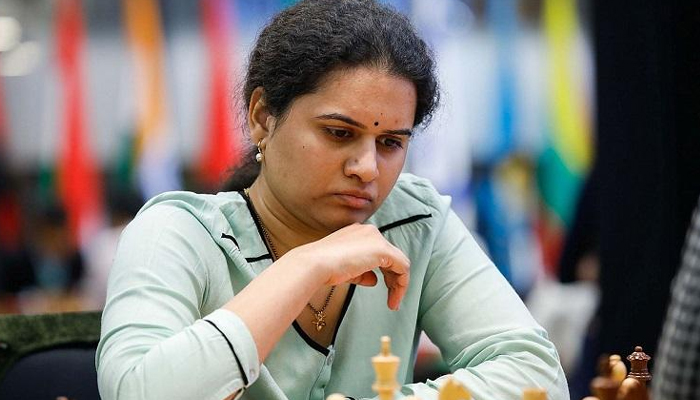Chess grandmaster Humpy finishes 12th in blitz competition