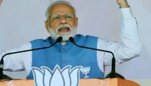 Tight security for PM's rally: CCTV on routes to venue, snipers on buildings