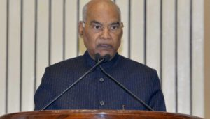 India strives to eliminate poverty, become middle-income country: Prez