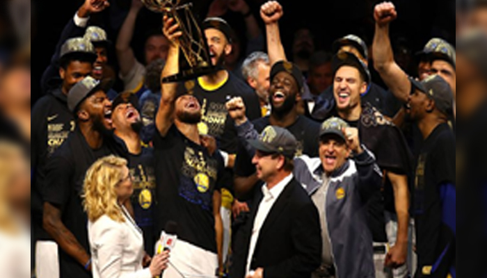 Warriors bagged Franchise of the Decade among all pro sports teams