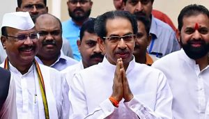 Maharashtra CM Uddhav Thackeray along with son Aditya met PM Modi