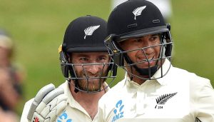 Williamson, Taylor tons help New Zealand draw Test, win England series