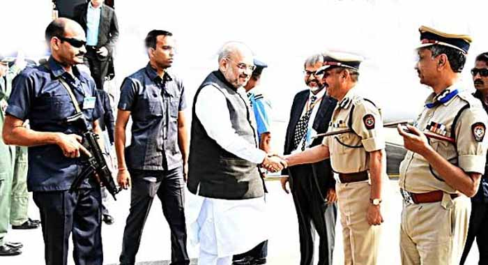 Home Minister Amit Shah reviews countrywide security situation