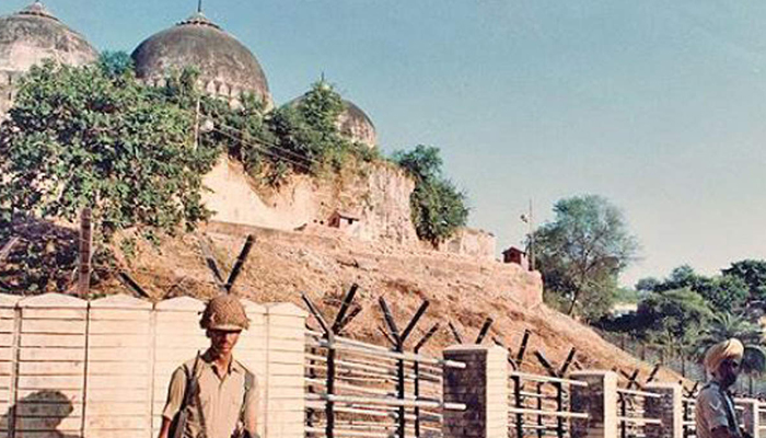 Govt sets up dedicated desk to look after Ayodhya issue