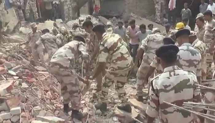W Bengal: Four killed, one injured in explosion in firecracker factory