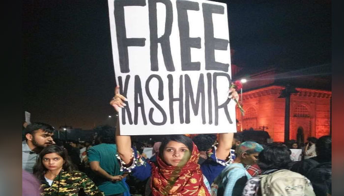 Reality of Free kashmir poster that attracted political criticsim | Know details
