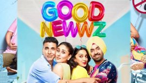 'Good Newwz' crosses Rs 100-crore mark at box office