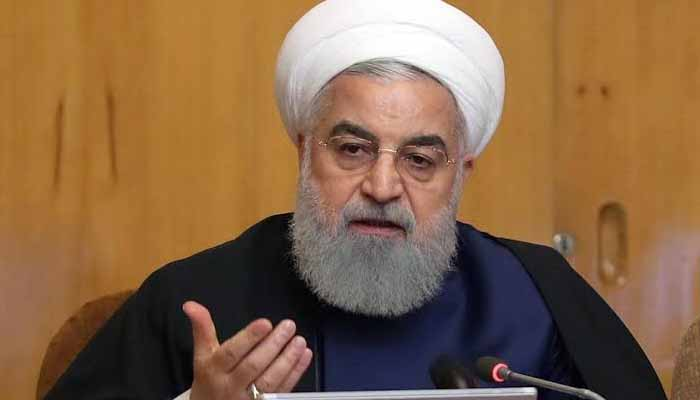 Irans President Hassan Rouhani urges unity after plane protests