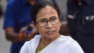 Mamata Banerjee wields paintbrush to protest against CAA, NRC