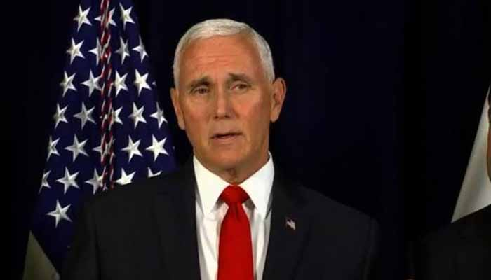 Iran sending msgs to militias not to move against American targets: Pence