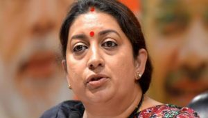 Smriti Irani says 'Congress spread misinformation as part of its political strategy'