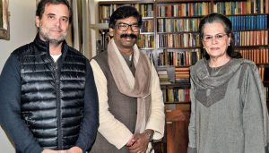 Sonia Gandhi, Rahul meet Cong MLAs from Jharkhand