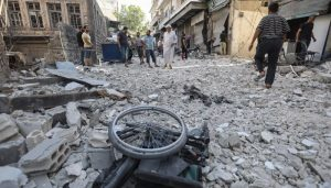Syria regime fire kills nine in school turned shelter: Reports
