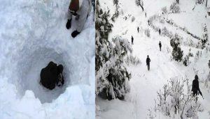 Avalanche strikes army post in J-K, five killed; Rescue operation on