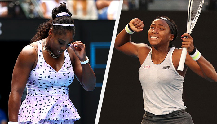 Serena out, Coco in as tennis sees past, future at Australian Open