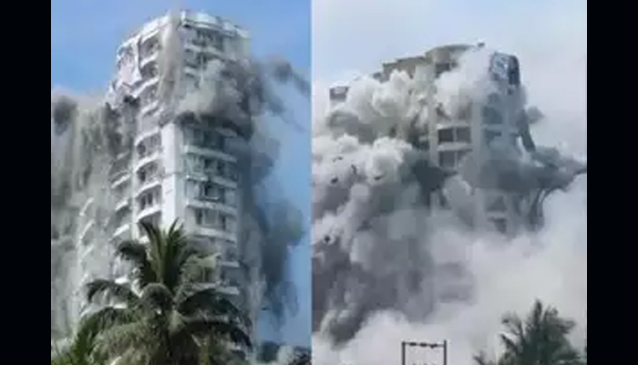 Last of the 4 illegal apartment complexes demolished in Kochi