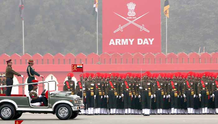 72th Army Day celebration with lady Parade Adjutant for 1st time in history
