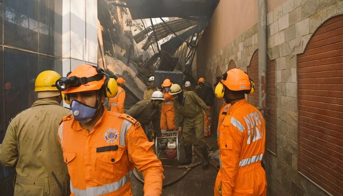 Delhi factory fire: A firefighter succumbs to injuries; others severely injured