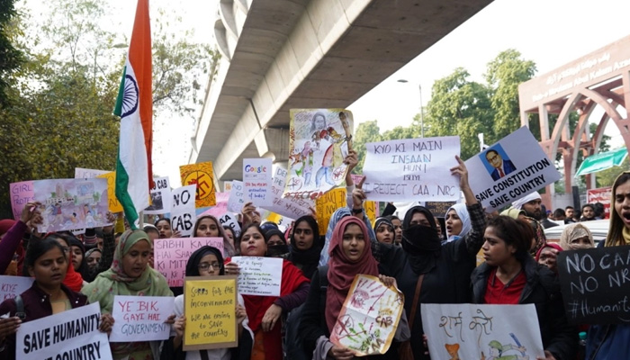 Artists take up brush & paint to protest against CAA & NRC