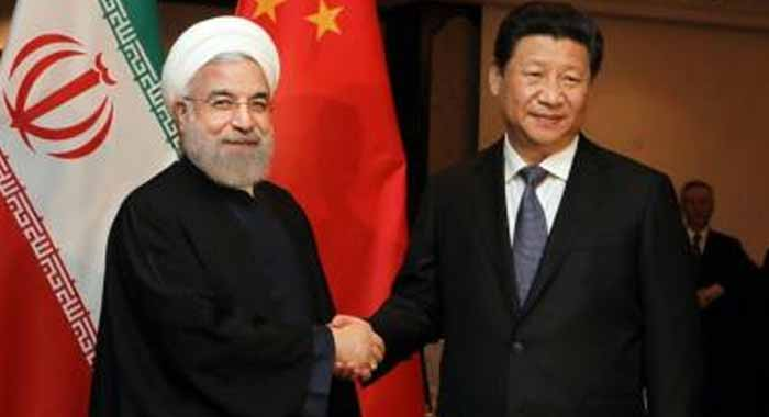 China rejects Trumps call to break away from Iran deal