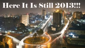 Unbelievable! This country is still in the year '2013'!! Deets inside…